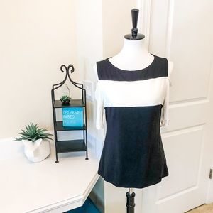 Philosophy black and white top